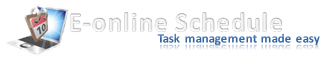 E Online Schedule : Task management made easy